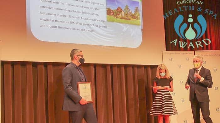 Eine wertvolle Auszeichnung: Gewinner Day SPA Award 2020 in Österreich des Europen Health Spa