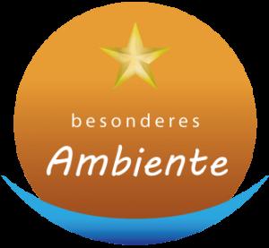 Logo ein Stern von 5 Sterne Qualität besonders Ambiente