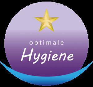Logo ein Stern von 5 Sterne Qualität optimale Hygiene