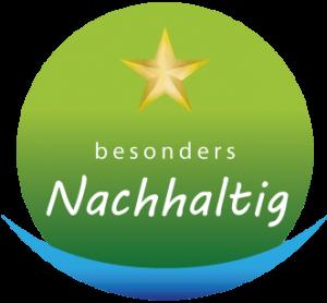 Logo ein Stern von 5 Sterne Qualität besonders Nachhaltig green SPA