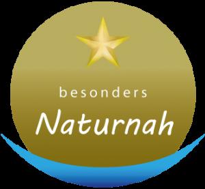 Logo ein Stern von 5 Sterne Qualität besonders Naturnah nature SPA