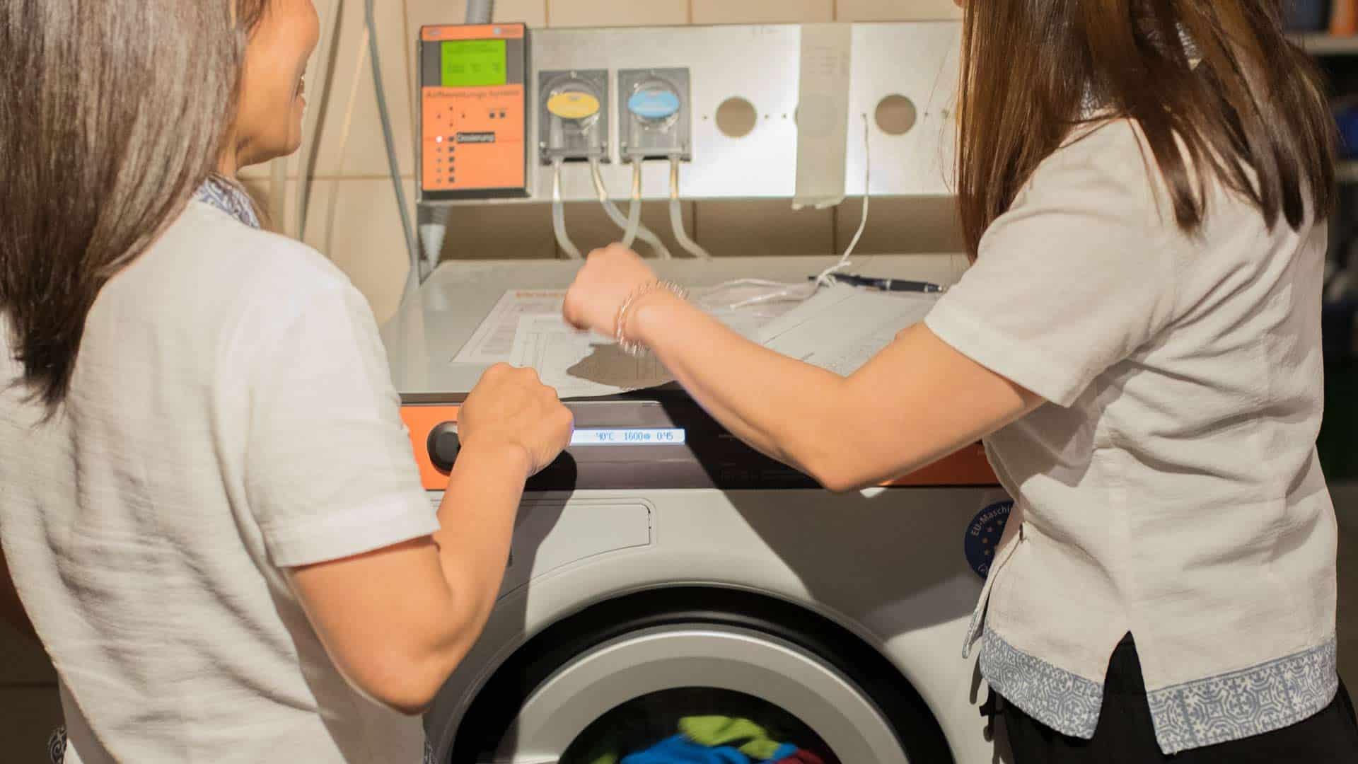 Zum Hygiene Plan gehören auch die Ersteinweisung und Nachschulung.
