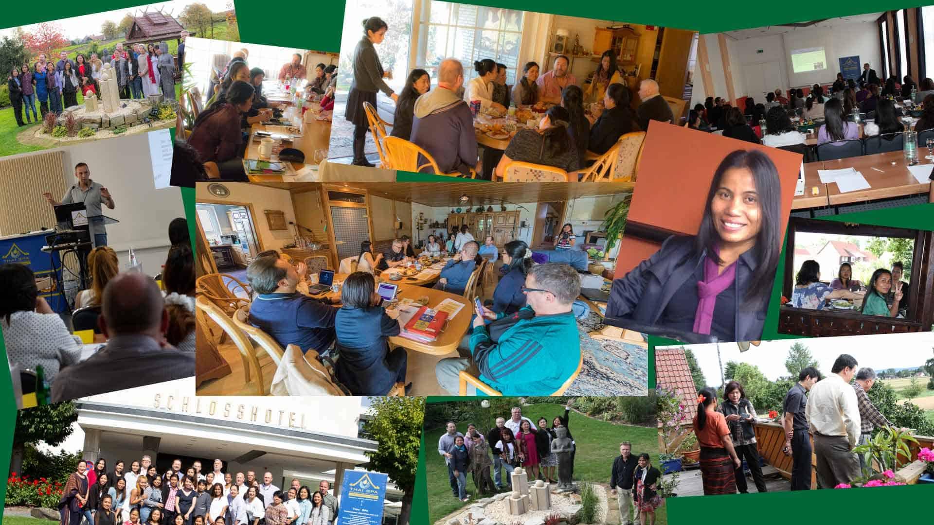 Treffen von Freunden und Kollegen im LANAI SPA
