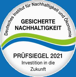 Siegel für Nachhaltigkeit green SPA